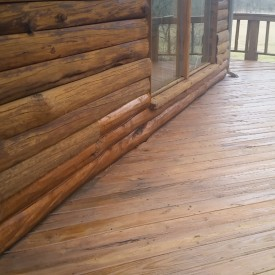 Log Home Repair and Restoration in Aurora MO