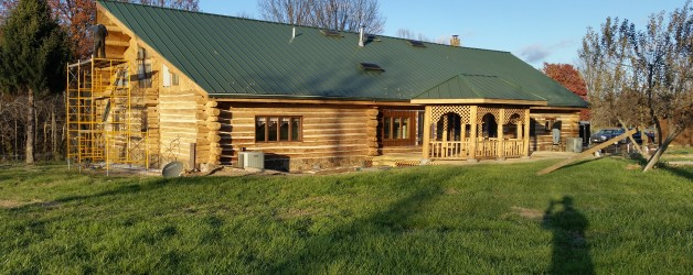 A Primer on Log Home Sealants