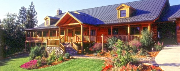 Log Home Landscaping, Food for Thought…
