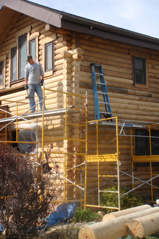 Extreme Rot Repair 888 Log Guys