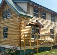 Log Home Restoration Near Ogallala NE