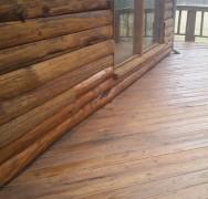 Log Home Repair and Restoration in Aurora MO