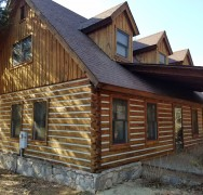 Log Home Restoration in Talladega AL