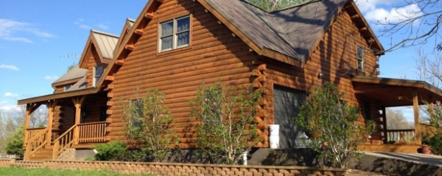 Quality Log Home Stain