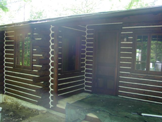 888-LOG-GUYS Log Home Restoration - Our work!