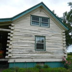 BEFORE – Log Home Repair