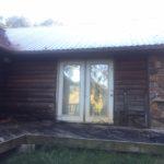 Log Home Damage