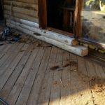 Deck Repair and Log Replacement