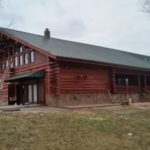 AFTER: Log Home Restoration