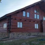 AFTER: Beautiful Log Home Finish