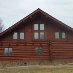AFTER: Log Home Refinishing